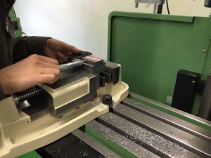 段加工の測定