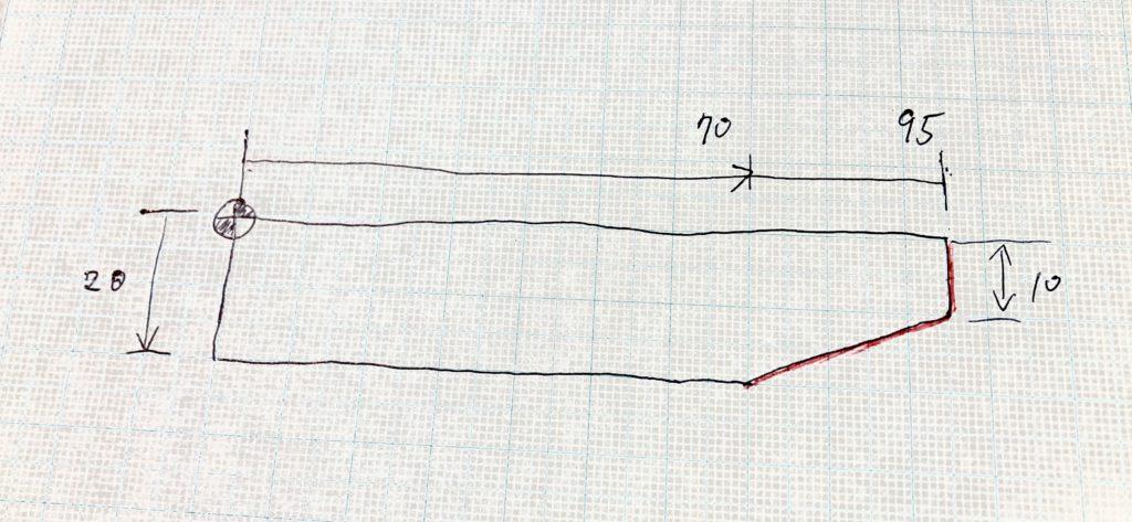 プログラムの例題図面