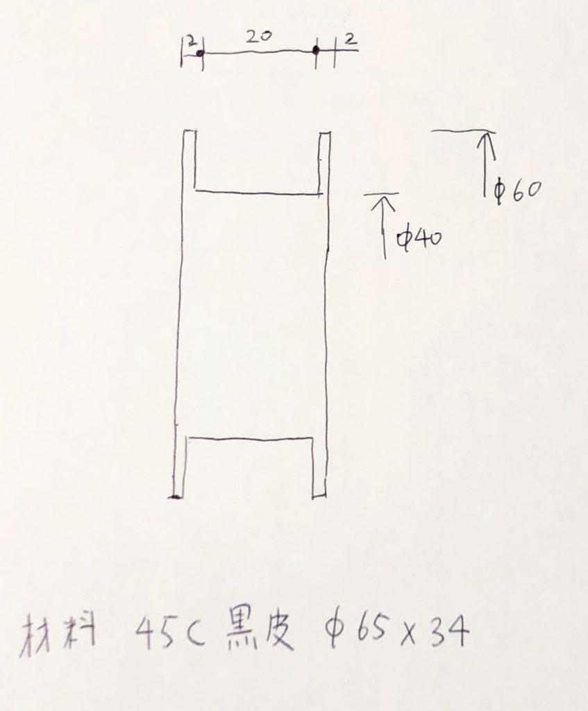リール型図面