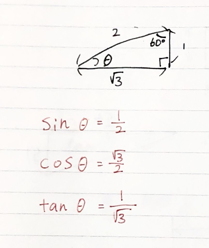 三角比例題